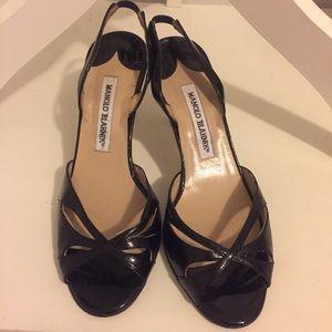 Manolo Blahnik Shoes. Size 7